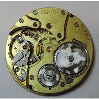 """Механизм от карманных часов """"ZENITH"""" 20-е годы. Швейцария. Диаметр 4 см. Не исправные."""