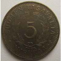 Финляндия 5 марок 1948 г. (d)