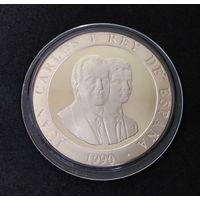Испания 2000 песет 1990 Серебро по ц.м. PROOF не идеален