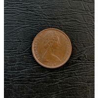 1 цент Новой Зеландии 1967 года