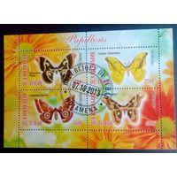 Чад 2013 Фауна Бабочки