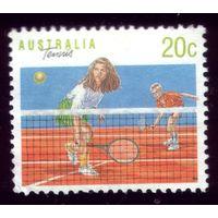 1 марка 1990 год Австралия Теннис 1184