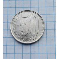 Венесуэла 50 сентимос 2007г.
