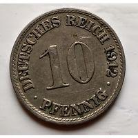 Германия 10 пфеннигов, 1912 A - Берлин 2-1-37