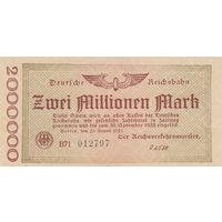 Германия 2 млн. марок 1923