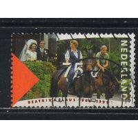 Нидерланды 1991 25 летие свадьбы королевы Беатрикс и принца Клауса #1400