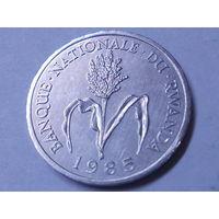 Руанда 1 франк 1985 г.Аукцион с 1.00 руб.