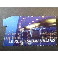 Финляндия 2014 огни ночного города