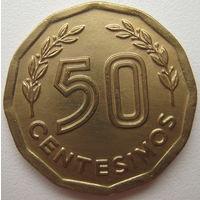 Уругвай 50 сентесимо 1977 г. (u)