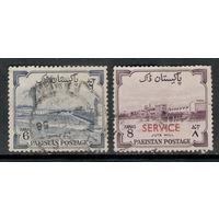 Пакистан /1955/ 8-я Годовщина Независимости / Газоперерабатывающий Завод / Michel #PK 74 - 75 / 2 Марки