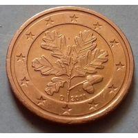 2 евроцента, Германия 2011 D