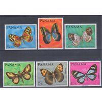 [38] Панама 1968. Фауна.Бабочки.