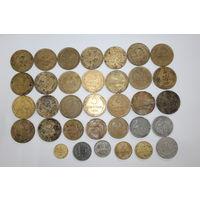 5 копеек 1932 г, 1930 г, 1957, 1943 г, 3 копейки 1949 г, 1946 г и др.