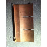 Шина латунная (пружинит) 60х123х0,3мм
