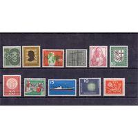 Германия ФРГ 11 марок (*) 1956-1957 гг