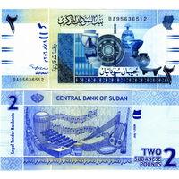 Судан 2 фунта 2006 год  UNC