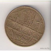 Франция, 10 francs, 1980г