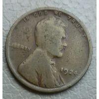 США 1 цент 1924
