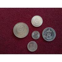 Венесуэла набор монет 1978-90