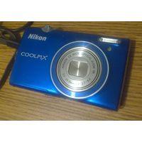 Nikon CoolPix S5100. Рабочий, с дефектом