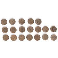 Франция, 5 и 10 сантимов centimes. ПОГОДОВКА, 1963-1998