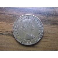 Великобритания 1 пенни 1962 (2)