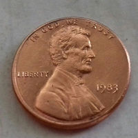 1 цент США 1983, 1983 D
