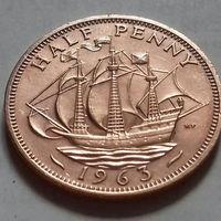 1/2 пенни, Великобритания 1963 г., AU