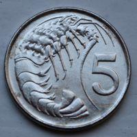 Каймановы острова, 5 центов 1999 г