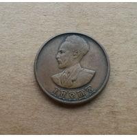 Эфиопия, 5 центов, Хайле Селассие (1930-1974)