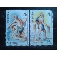 Гибралтар 1981 Европа, фольклор** полная серия