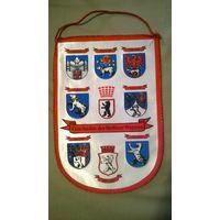 Вымпел история герба Берлина (ГДР)