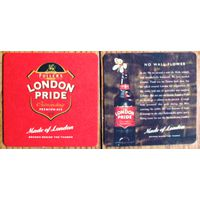 Подставка под пиво Fuller's London Pride (Великобритания)