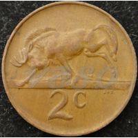 61:  2 цента 1981 ЮАР