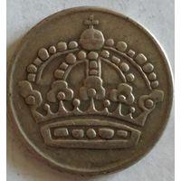 Швеция 50 эре 1952 серебро