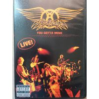 DVD AEROSMITH you gotta move (2 диска)
