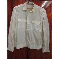 Рубашка офицера мвдСССР.Шелковая ни как обычные