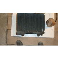 Радиатор системы охлаждения МАзда 323 1989 седан 1,3 бензин ВF б/у
