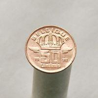 Бельгия 50 сантимов 1998 (Французская легенда)