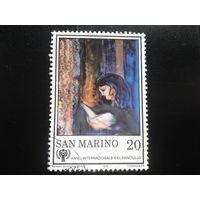 Сан-Марино 1979 живопись