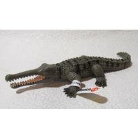 """Фигурка крокодила """"Schleich"""",2000г."""