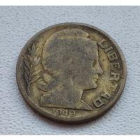 Аргентина 10 сентаво, 1949  8-11-5