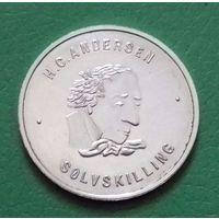 Серебряный скиллинг, Дания 1978 г., серебро