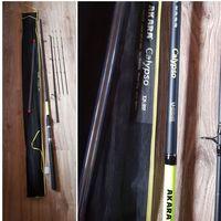 Фидер для рыбалки Пикер штекерный 2 колена Akara L17032 Calypso TX-20, (тест 20-40-60 гр.), 2.7 м