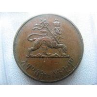 Эфиопия 5 центов 1936 г.