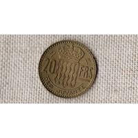 Монако 20 франков 1950 /(Ст)