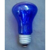 Лампочка-синяя-60Вт-Е-27-Ретро-начало 90-х.