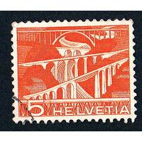 49: Швейцария, почтовая марка, 1949 год, номинал 5с, SG#511