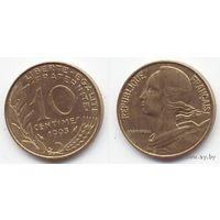 Франция 10 сантимов 1993г. распродажа