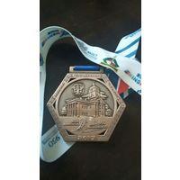 Медаль Минский полумарафон 2017 (5 км, медаль финишера)